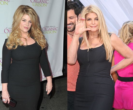 did kirstie alley gain weight on cheers